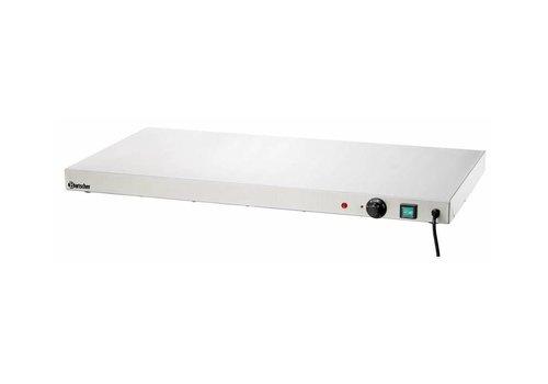 Bartscher Plaque Chauffante Inox   450W   900x450x64(h)mm