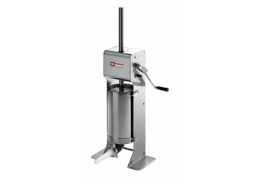 Diamond Poussoir manuel vertical | 12 litres | INOX | 435x260x(h)1100mm