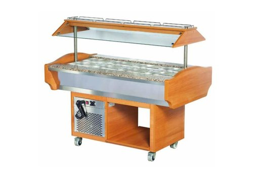 Combisteel Bar à salade | de restauration | 151x90x87 | 132 cm