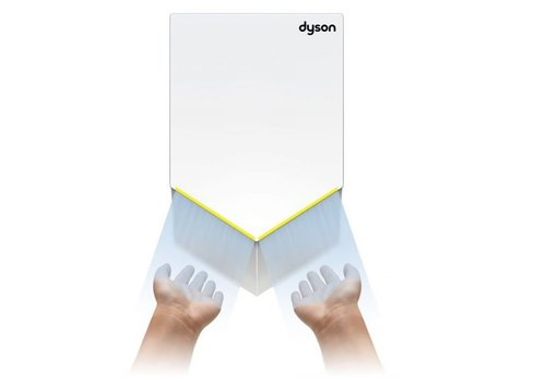DYSON Sèche mains Airblade HU02 Blanc