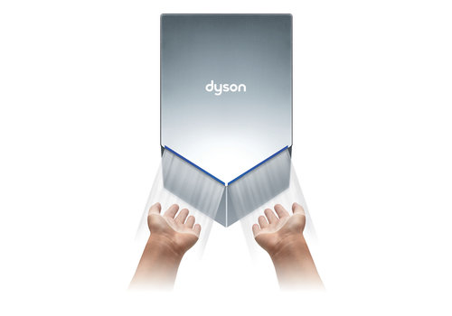 DYSON Sèche mains Airblade HU02 Gris