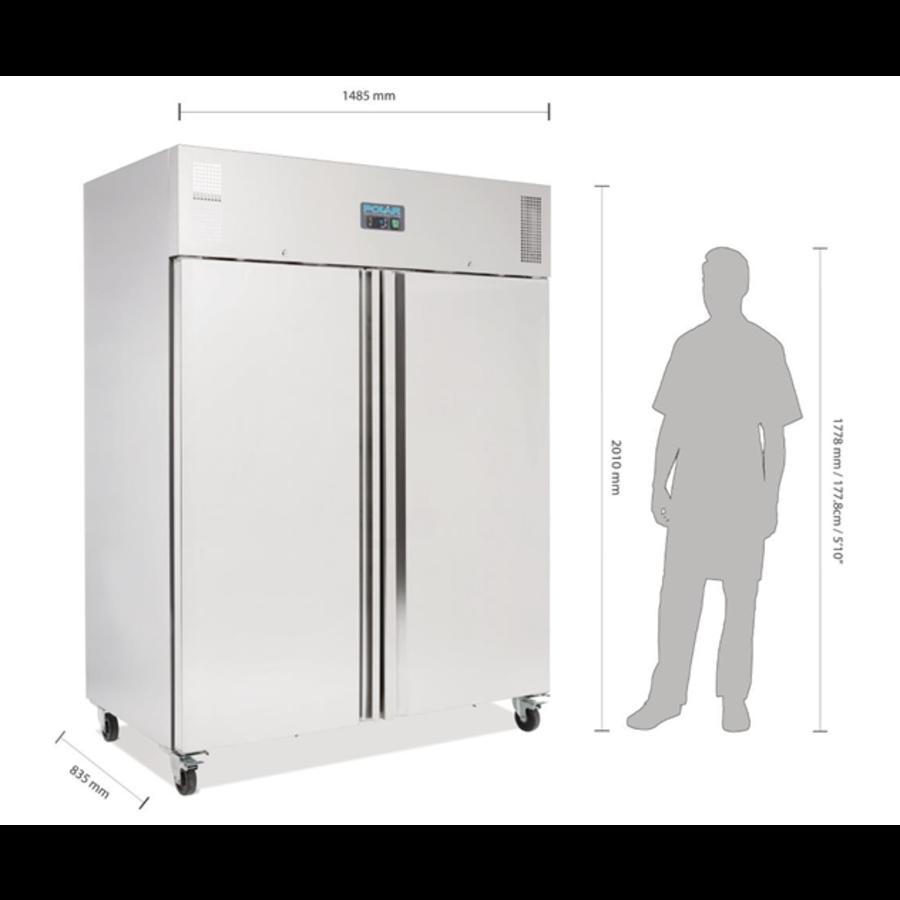 Armoire réfrigérée négative GN 2 portes 1300L Polar Série U