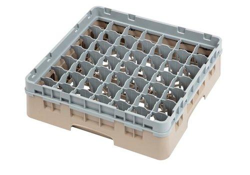 ProChef Casier à verres 49 compartiments beige hauteur max 9.2 cm