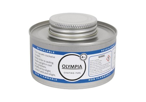 ProChef Combustible liquide Olympia 4 heures