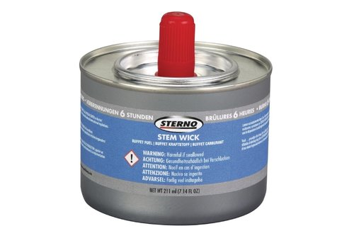 ProChef Combustible liquide Superwick 6 heures Sterno x36