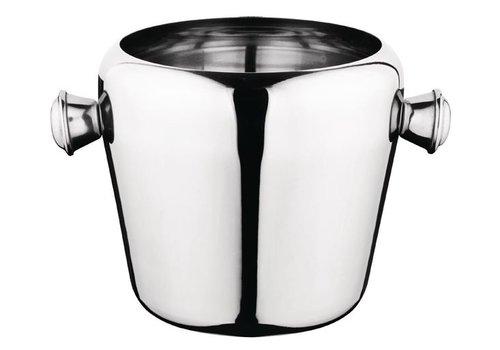 ProChef Mini seau à glace | Inox | 1L | 115(H) x 125(Ø) mm