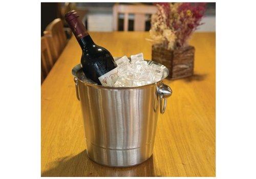 ProChef Seau à vin et champagne | Acier inoxydable | 3,78 L | 190(H) x 190(Ø) mm
