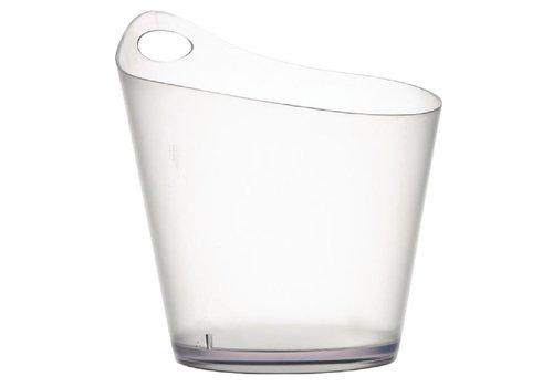 ProChef Rafraîchisseur à vin | Acrylique | APS | Transparent | 281(H) x 198(Ø) mm | 3,4 L