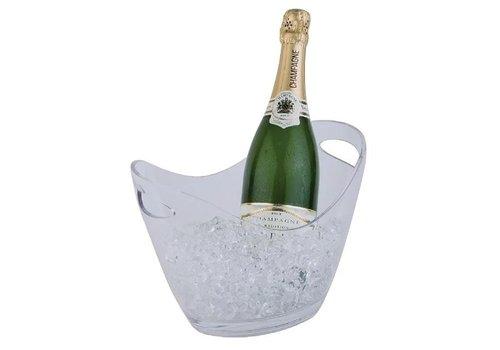 ProChef Seau à vin  | APS transparent | 2 bouteilles | 210(H) mm