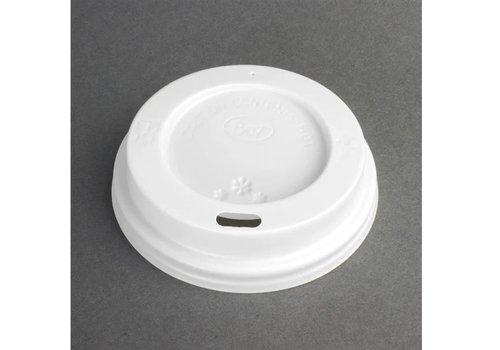 ProChef Couvercles recyclables gobelets | 340ml et 454ml | Lot de 50 | 17(H) x 93(Ø) mm