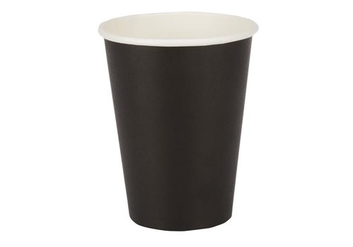 ProChef Gobelets jetables   Noirs   340ml   110(H) x 89,5(Ø) mm