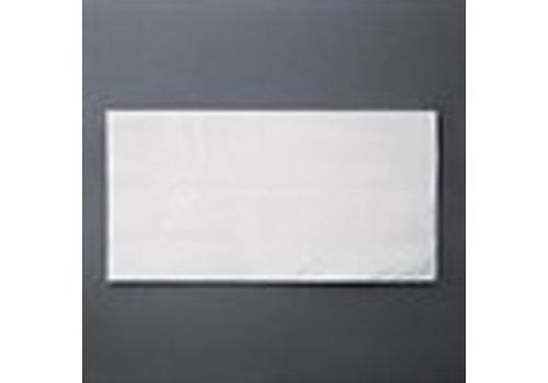 ProChef Serviettes dîner 2 plis Fiesta blanches 400 x 400mm