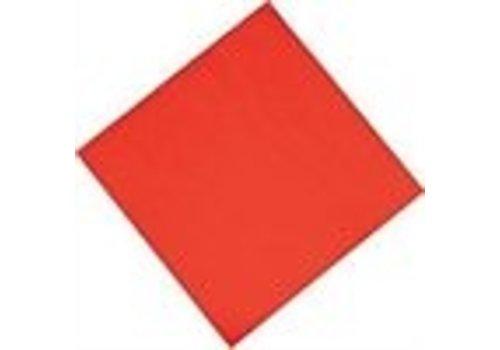 ProChef Serviettes de table en papier rouges Fasana 330mm