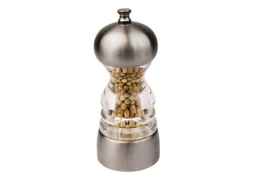 Olympia Moulin à sel et poivre | Inox | 135x55mm