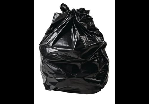 Jantex Sacs poubelle | compacteur | 120L | Noir | 120L / 20kg
