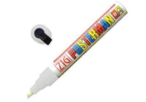 Securit Marqueur craie tous temps Securit Zig Posterman 6mm blanc