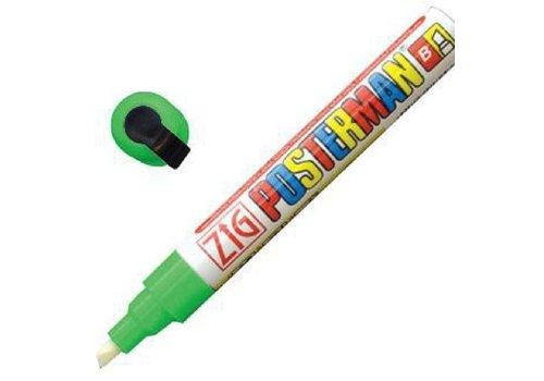 Securit Marqueur craie tous temps Securit Zig Posterman 6mm vert