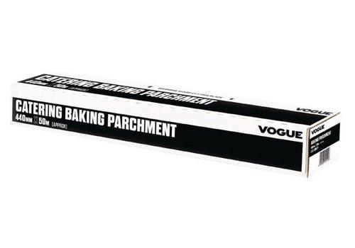 Vogue Papier sulfurisé 440mm x 50m Vogue