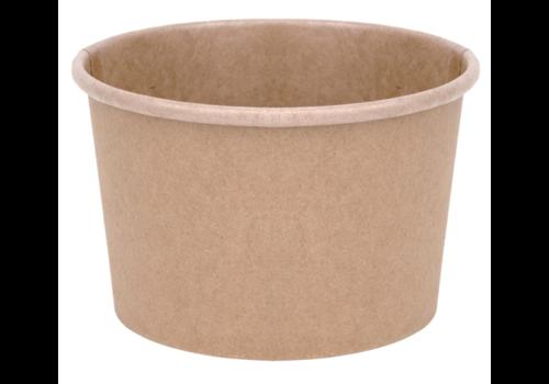 ProChef Pots à soupe compostables en PLA | Green 98 mm - 34 cl (x500)