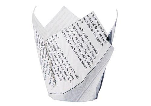 ProChef Cornets à Frites / Motif Papier Journal /175(H) x 50(Ø)mm / 1100 Unités