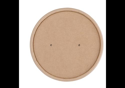 ProChef Couvercles en papier pour pots à soupe | 118mm FB166 et FB168 | x 500