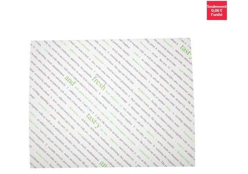 ProChef Feuilles de papier ingraissable Fresh et Tasty/lot de 500/20,3x25,5cm