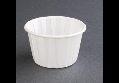 ProChef Pot à sauce recyclable en papier ciré | 59ml (lot de 250)
