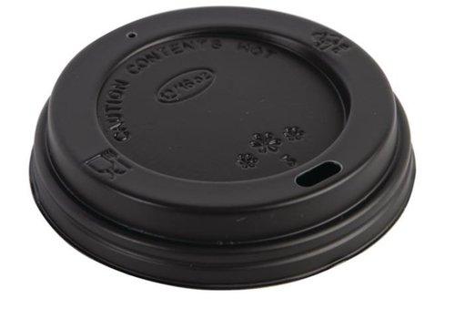ProChef Couvercles noirs pour gobelets 340ml Fiesta | lot de 50
