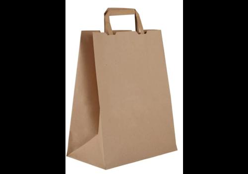 ProChef Grands sacs compostables en papier recyclé Vegware largeur 25 cm (x250)