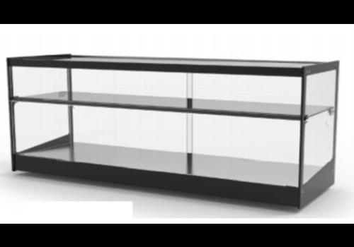 Sayl Vitrine Neutre   LED   Verre Trempé   82,5 x 38,5 x 22,5 cm