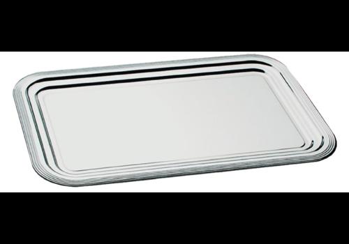 ProChef Plateau traiteur semi-jetable APS GN1/1 | 53 x 32,5 cm | en chrome