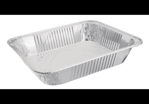 ProChef Plat rectangulaire aluminium GN 1/2, 6 x 26 x 32,3 cm | 3,6L