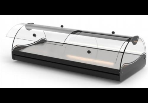 Sayl Vitrine Neutre   2 Portes   LED   82,5 x 39,5 x 24,5cm