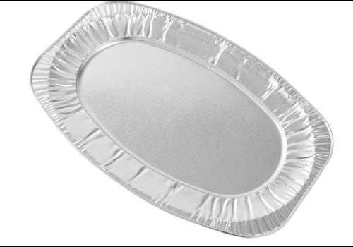 ProChef Plateaux jetables 650mm, en aluminium, 1,04 kg