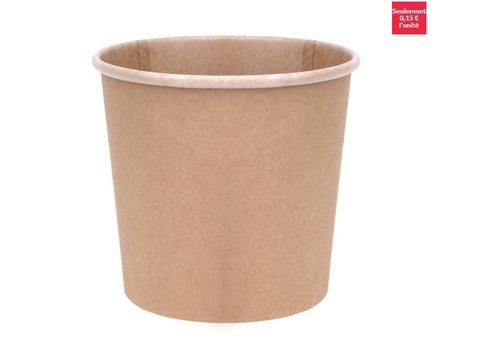 ProChef Pots à soupe compostables en PLA Fiesta Green 118 mm - 73,8 cl