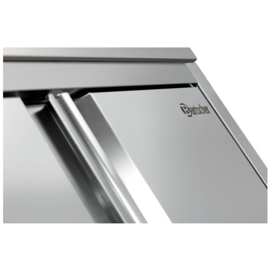 Armoire de Rangement en Inox / 3 Étagères / 800(L)x600(P)x2000(H)mm