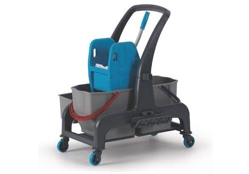 Combisteel Chariot de lavage avec un bac