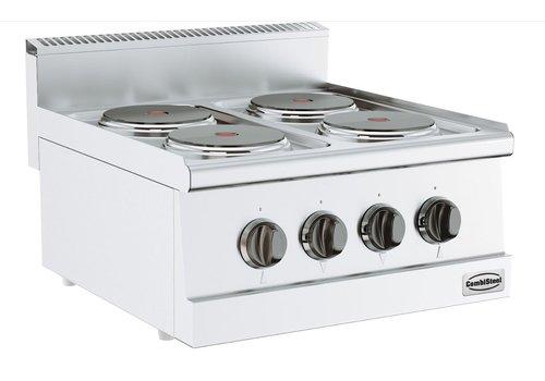 Combisteel Cuisiniere electrique   4 plaques