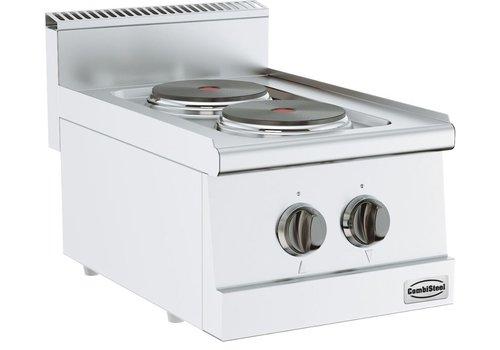 Combisteel Cuisiniere electrique   2 plaques