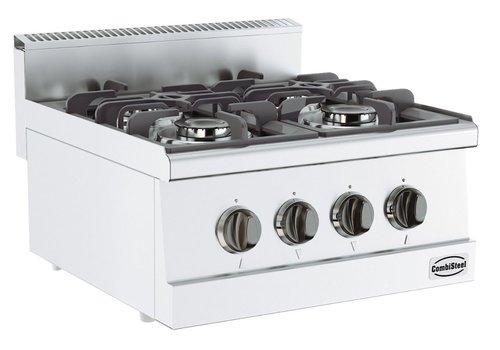 Combisteel Cuisiniere a gaz | 4 bruleurs