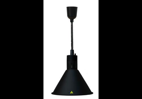 Combisteel CS Lampe chauffante 02 noir | 230 Volt