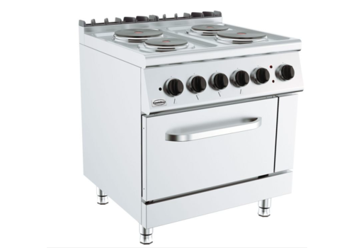 ProChef Cuisiniere electriques | 4 plaques | avec four electrique