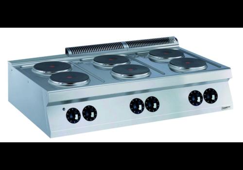 Combisteel Cuisiniere éléctrique   6 plaques