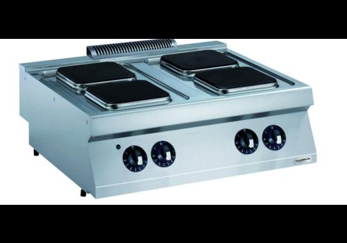 Combisteel Cuisiniere éléctrique   4 plaques à induction