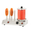 Casselin Appareil à Hot Dog Électrique 4 Plots   550 W   L 505 x P 280 x H 400 mm