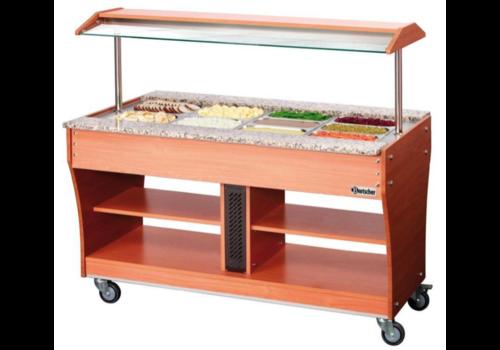 Bartscher Chariot buffet chaud | sans bacs