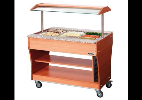 Bartscher chariot buffet chaud