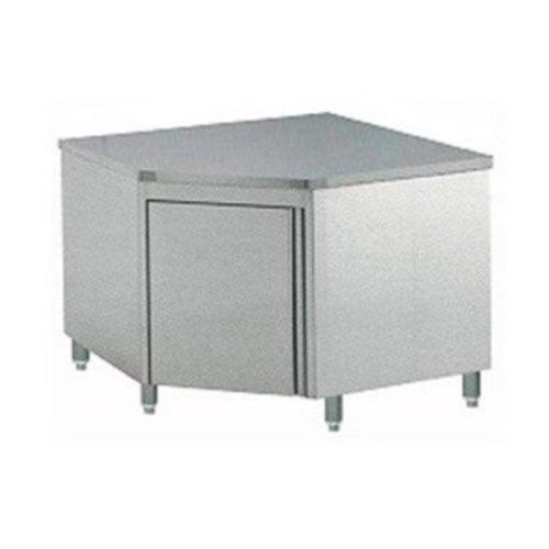 Table de Travail d'Angle Inox