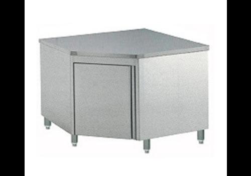 Diamond Comptoir armoire neutre à angle 90° | porte battante | 1000x1000x900 (h)