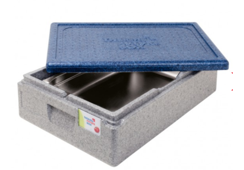 Thermo Future Box Thermobox Gastronorm 1/1 | Gris Bleu | 30 L
